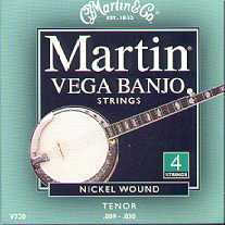Vega Banjo Strings - 4 strings Nickel Wound